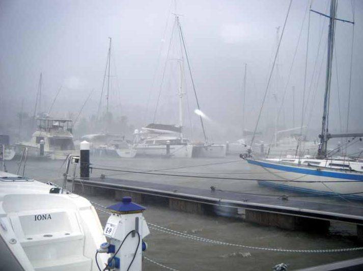 Hurrikánban St. Lucián