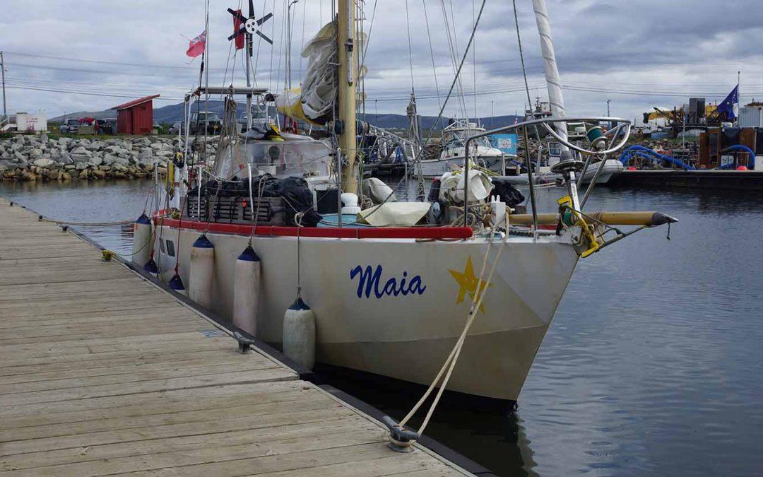 Hajónapló: a Balaton-család kalandjai a Bering- és a Csukcs-tengeren