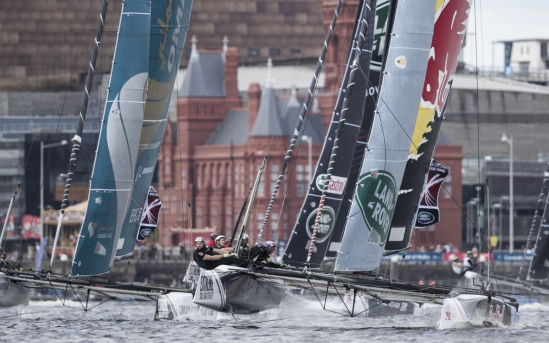 Nyerjen VIP-belépőt az Extreme Sailing Series cardiffi versenyére!