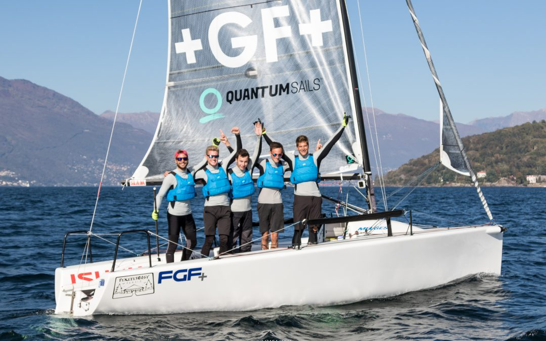 FGF Sailing Team: ezüstöt érő győzelem