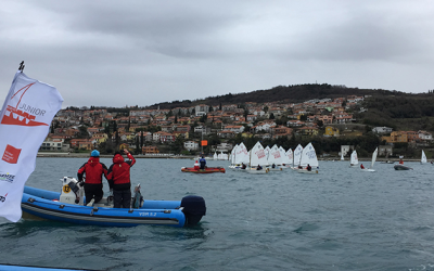 Négy magyar a TOP10-ben a koperi optimist versenyen