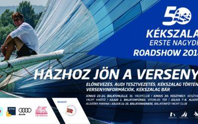 Kenesén folytatódik a Kékszalag Roadshow