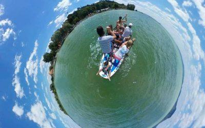 Hawaii őrület a Balatonon