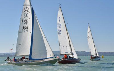 Távolsági menet a Dragon- és Folkboat Ob-n