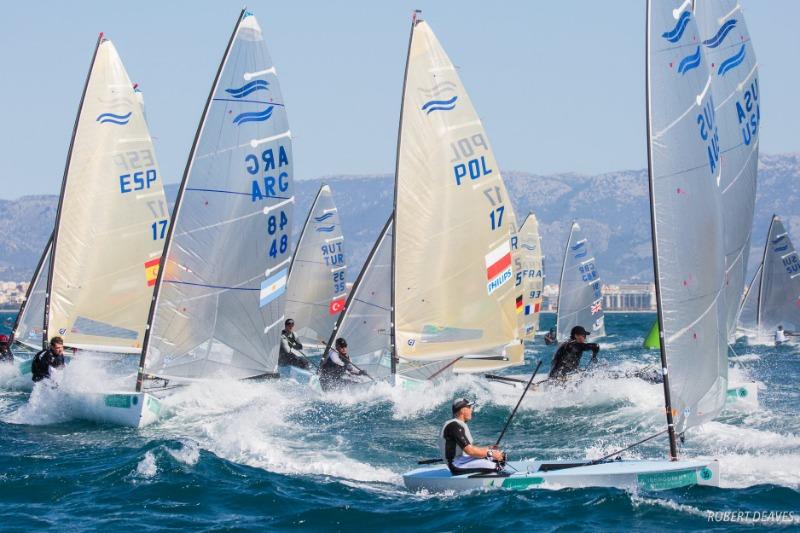 WS: repül a Finn és a 470 az olimpiáról!